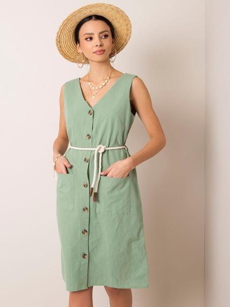 Zielona sukienka Boney (1)