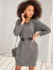Bluzowa sukienka bez kaptura (1)