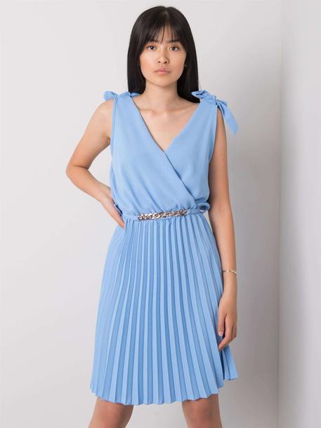 Sukienka Bianca Niebieska (1)